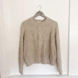 H&M heart sweater